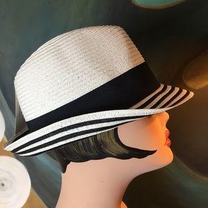 Paper Braid Trilby Hat